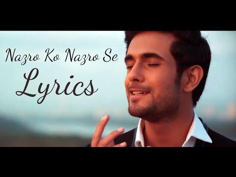 Sanam - Nazron Ko Nazron Se Lyrics Video