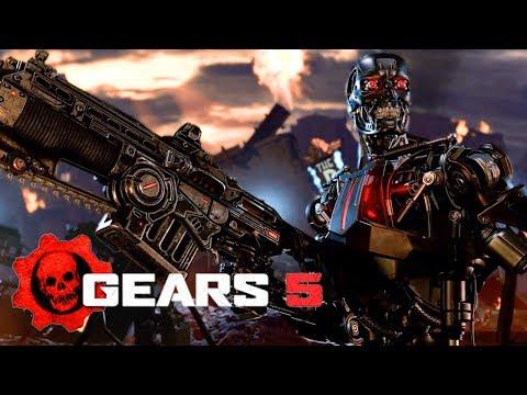 Gears 5 - Official Terminator Dark Fate Reveal Trailer   E3 2019