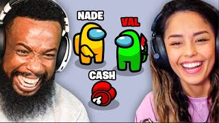 2HYPE Plays Among Us w/ 100 Thieves Nadeshot, Valkyrae & CouRage