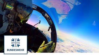 Premiere: Eurofighter wirft erste Bombe in Deutschland I Bundeswehr