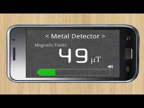 How To Use Android As Metal Detector | Android latest 2017