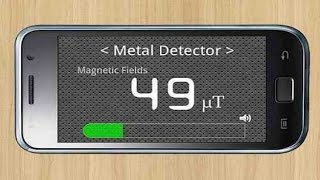 How To Use Android As Metal Detector   Android latest 2017