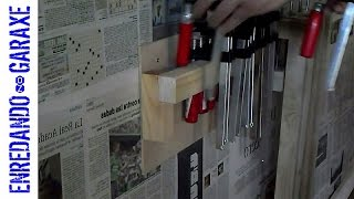 How To Make A Clamp Rack Easy And Simple