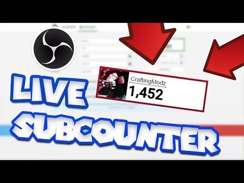 ✅[Tutorial] Youtube Abonnenten im Stream/OBS Anzeigen! - Live Youtube-Subscribe Counter in OBS!✅Rici