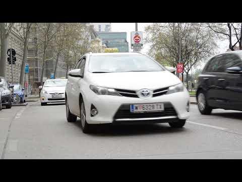 TaxiDemo in Wien: Hupen gegen Uber