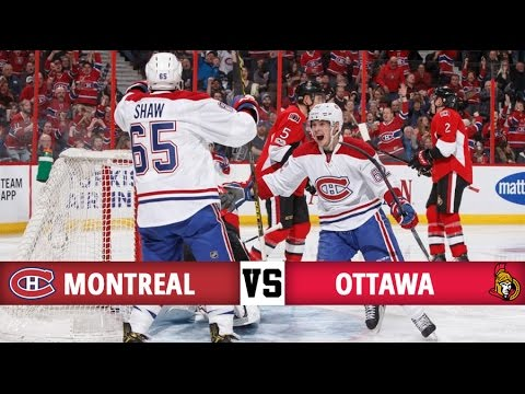 Montreal Canadiens vs Ottawa Senators | Season Game 71 | Highlights (18/3/17)