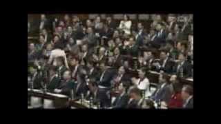 おしどりマコさん、国会本会議で傍聴席から魂のヤジ