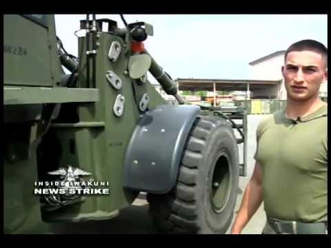 News Strike - Heavy Equipment Operators Provide the Strong Hand on Base