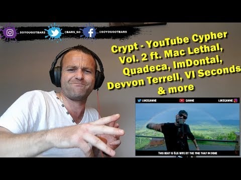 Crypt - YouTube Cypher Vol. 2 [[REACTION]]