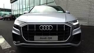 CMG AUDI SLIGO: NEW 2018 Audi Q8 3.0TDI S-Line Quattro 286BHP Tiptronic/Auto