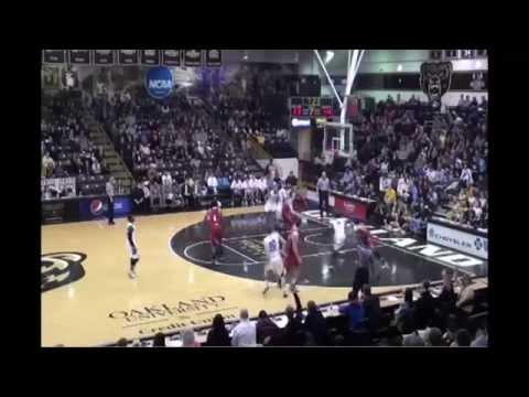 Max Hooper 3 Point Highlights Oakland University Men