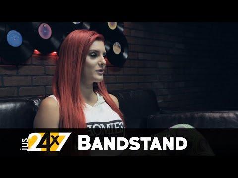 Bandstand:  Justina Valentine - Interview