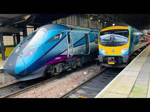 Transpennine Express 802206 At Leeds From Newcastle To Manchester Airport