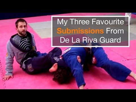 My Three Favourite De La Riva Guard Submissions