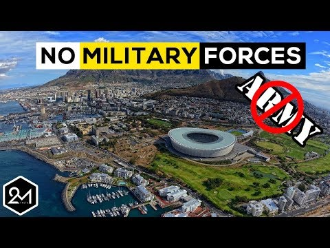 10 Countries With No Military Forces