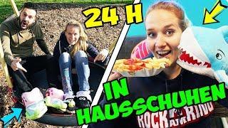 24 STUNDEN IN HAUSSCHUHEN - Nina, Kaan & Kathi sind 1 TAG IN PEINLICHEN PANTOFFELN auf der Strasse