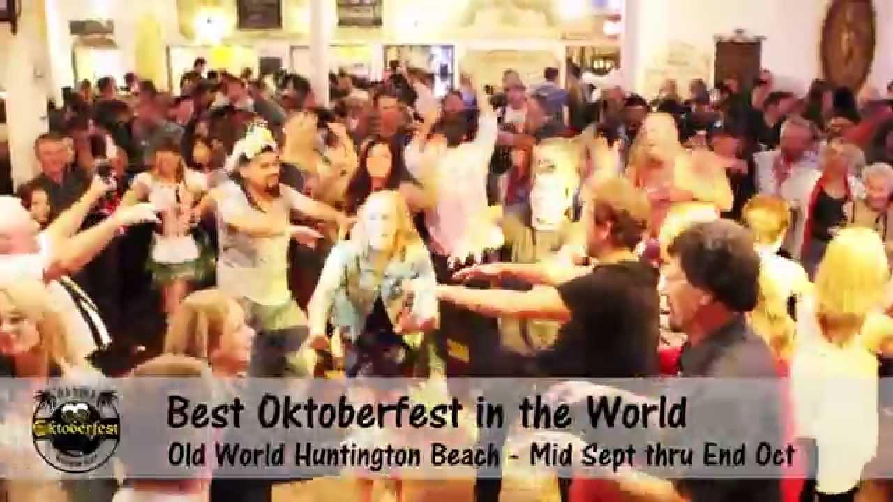 Oktoberfest Old World Huntington Beach Orange County
