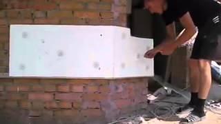 Видео утепление стен пенопластом и нанесение фасадной штукатурки своими руками(Видео утепление стен пенопластом и нанесение фасадной штукатурки своими руками. Виды декоративной штукату..., 2014-01-27T13:34:40.000Z)