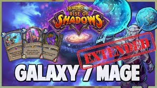 Galaxy 7 Mage | Extended Gameplay | Hearthstone | Rise of Shadows