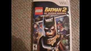 LEGO Batman 2: DC Super Heroes - (Wii Version) Unboxing!!