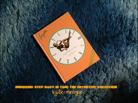 Unboxing Step back in time ,the definitive collection, Kylie Minogue Mp3