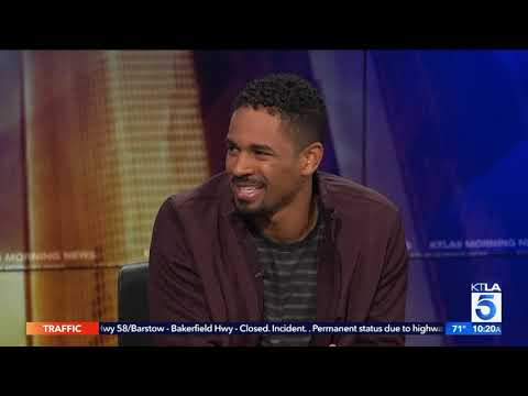 "Damon Wayans Jr. on Having his Real Life Dad in ""Happy Together"""