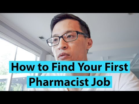 How To Find Your First Pharmacist Job