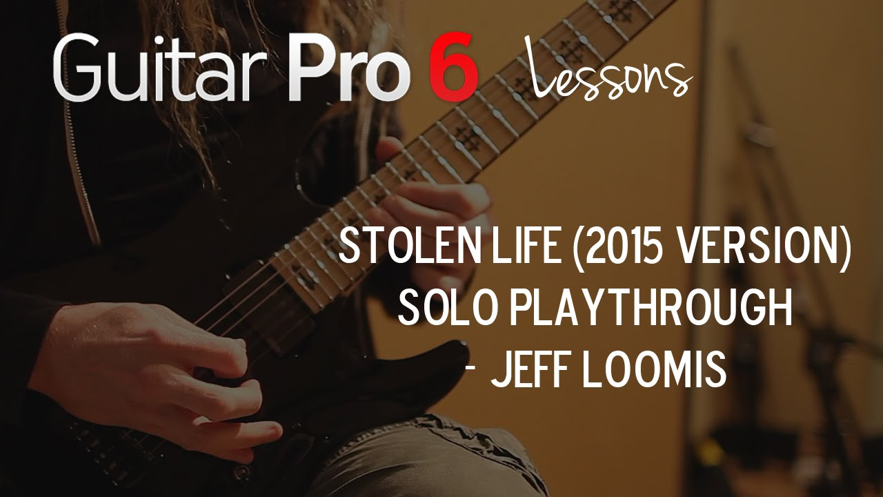 """Jeff Loomis Arch Enemy """"Stolen Life"""" Solo Playthrough"""