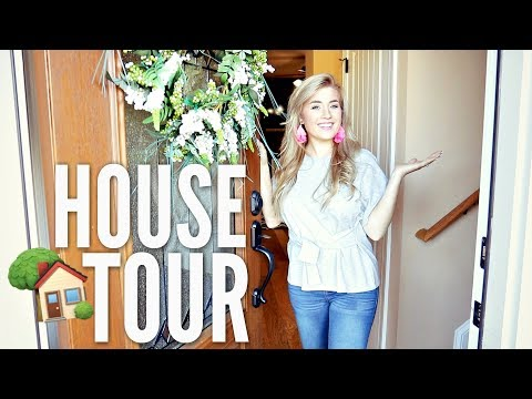 🏠 UPDATED HOUSE TOUR 2018   1 YEAR AFTER MOVING IN   SOUTHERN FARMHOUSE TOUR