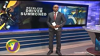 TVJ News: Reckless Bus Driver Caught on Video - February 6 2020