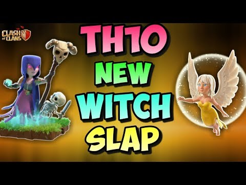 WITCH SLAP + 8 FREEZE SPELL | Th10 New 3 Stars War Attack Straregy | Clash Of Clans