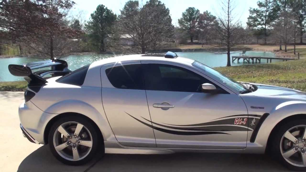 Perfect HD VIDEO 2005 MAZDA RX 8 SHINKA GT TOURING FOR SALE FAST U0026 FURIOUS USED SEE  WWW SUNSETMILAN COM