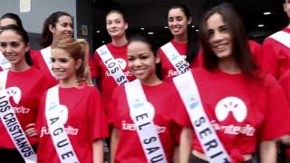 Actividades de Candidatas a Miss World Tenerife 2016