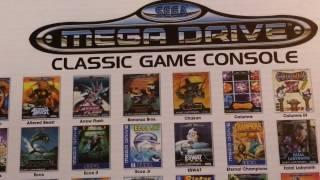 SEGA Genesis/Mega Drive Classic Game Console - AtGames, All Games Played & Unboxing