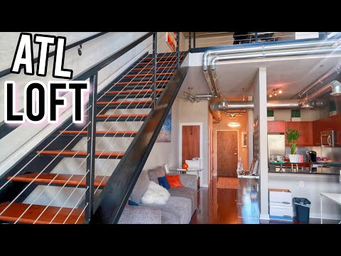 LUXURY ATLANTA LOFT TOUR | HIGH RISE & IN THE CITY | apartme