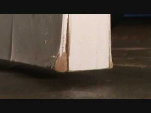 Replace or repair a door that is the question youtube - Refinishing damaged wood exterior doors ...