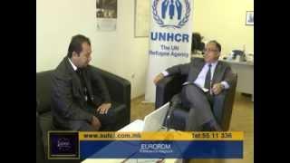 EUROROM 19 06 2014 INTERVJU MOHAMAD ARIF (UNHCR-SKOPJE)