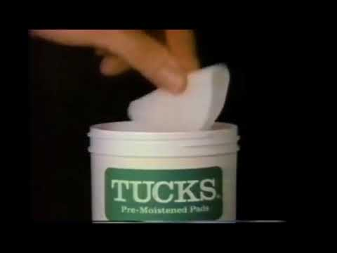 more photos 375b7 82883 Tucks Pads for Hemorrhoid Flare Ups (1980s commercial)