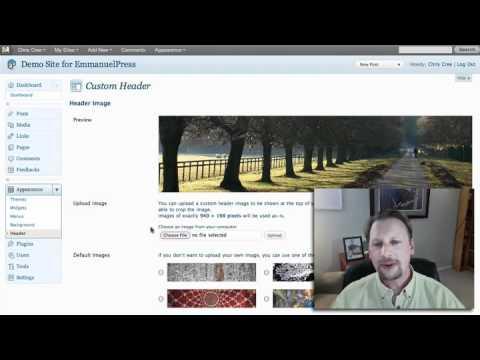 How to Upload A Custom Header