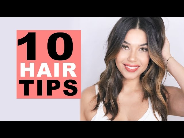 10 Hair Tips Every Girl Should Know!   Eman