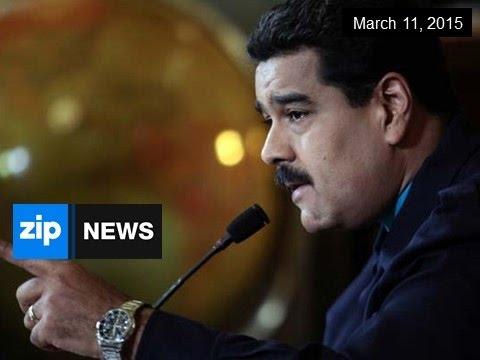 US Labels Venezuela A National Security Threat - Mar 11, 2015