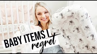 BABY PRODUCTS I REGRET BUYING   NEWBORN PRODUCTS YOU DON'T NEED