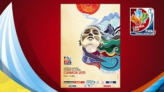 OFFICIAL POSTER: FIFA Women's World Cup Canada 2015™ (FRENCH)
