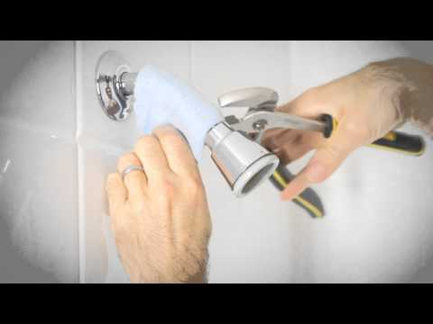 How to install a low-flow showerhead