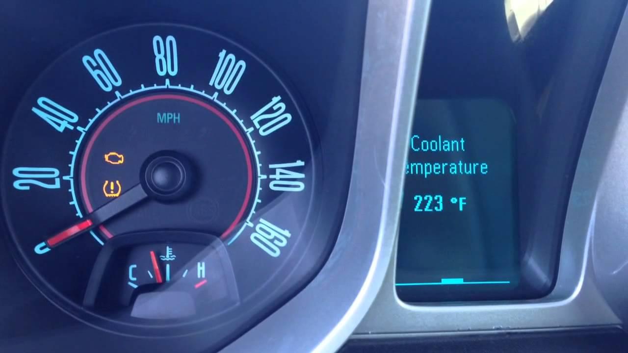2011 Camaro Overheating Youtube