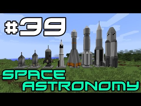Minecraft Space Astronomy - The Asteroid Belt! #39
