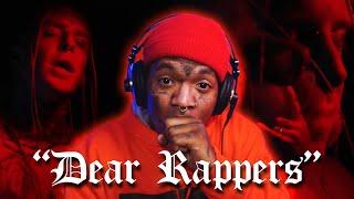 "DOWN THE RABBIT HOLE WE GO!! 🐇🐰 | Tom MacDonald - ""Dear Rappers"" - REACTION"