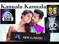 kannala kannala 8D song  by hiphop tamizha, kaushik krish, and padmalatha