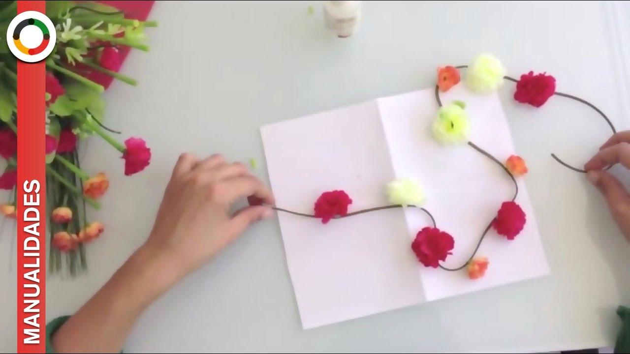 C mo hacer una diadema o corona de flores para el pelo for Diademas de tela para el cabello
