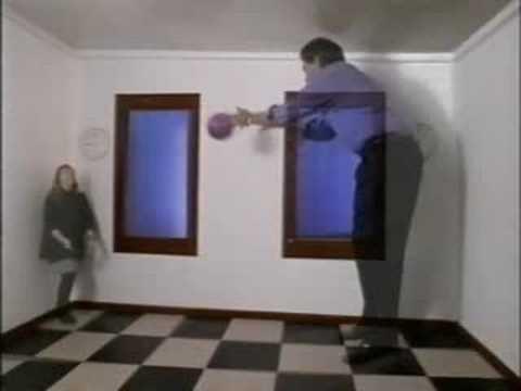Ramachandran  Ames room illusion explained  YouTube